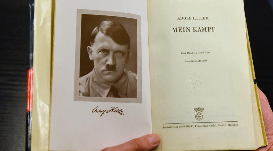 German teachers aim to teach 'Mein Kampf' in schools to defeat extremism