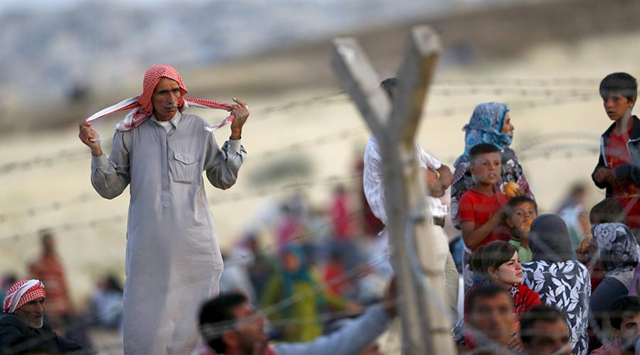 'NATO-member Turkey flexing muscles against Kurds'
