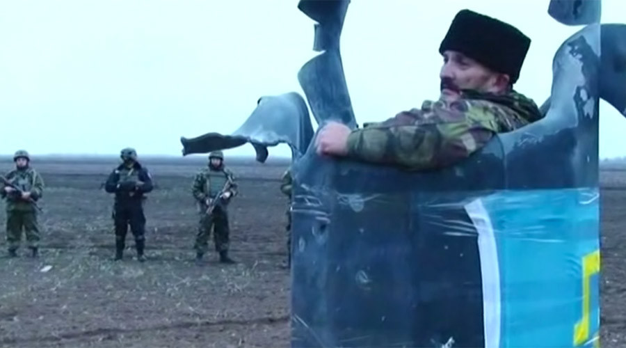 Crimean blockade organizer launches guerrilla 'Tatar battalion' with 'Turkish help'