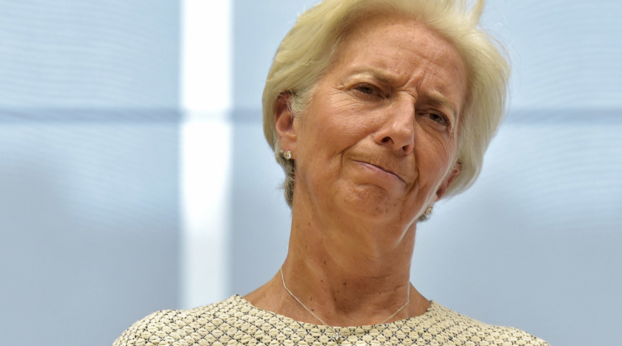 IMF chief warns of 'disappointing' global growth in 2016