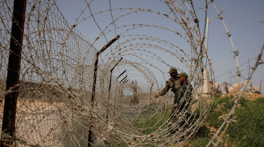 Exposing explosive devices? Israel 'destroys Palestinian crops' along security fence