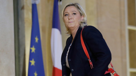 French National Front political party leader Marine Le Pen © Philippe Wojazer