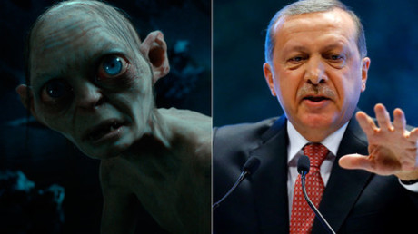 Turkish court calls for experts to establish whether Erdogan looks like… Gollum?