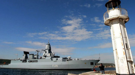 The German navy ship