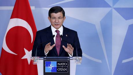 Turkish Prime Minister Ahmet Davutoglu. ©Francois Lenoir
