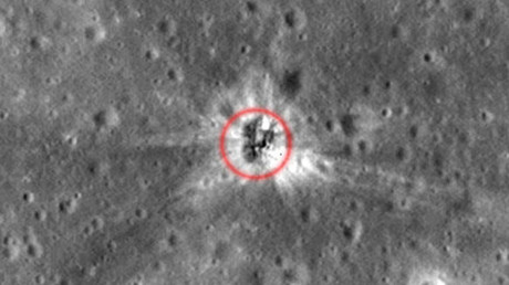 UFO no more: Crashed rocket found on the Moon