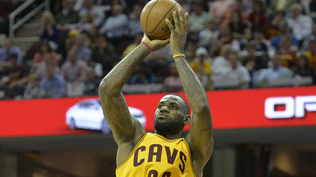 Cleveland Cavaliers forward LeBron James (23). © USA Today Sports