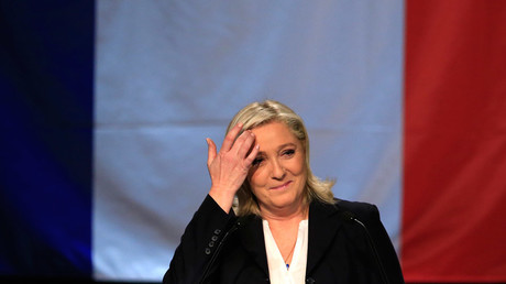 French National Front political party leader Marine Le Pen © Pascal Rossignol