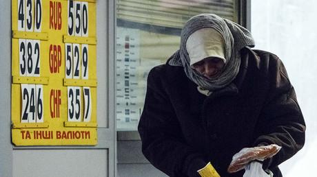 Ukraine's economy hits rock bottom