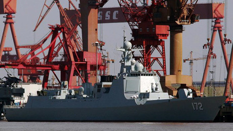 The first Type 052D destroyer Kunming © Wikipedia