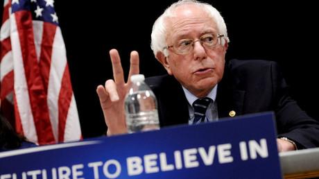 U.S. Democratic presidential candidate Bernie Sanders. © Mark Kauzlarich
