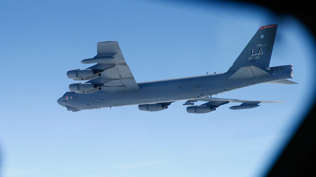 Beijing rebukes Washington after B-52 bomber strays over artificial island in South China Sea