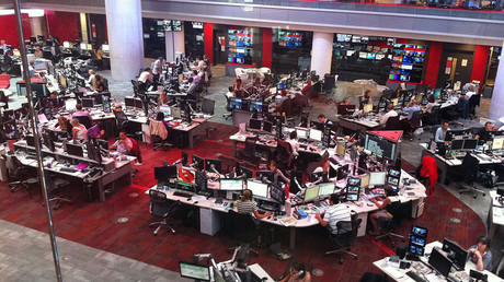 The BBC newsroom © wikipedia.org