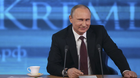 Russian President Vladimir Putin. © Mikhail Metzel