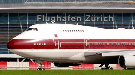 A Qatar Amiri Flight Boeing 747SP passenger jet © Arnd Wiegmann