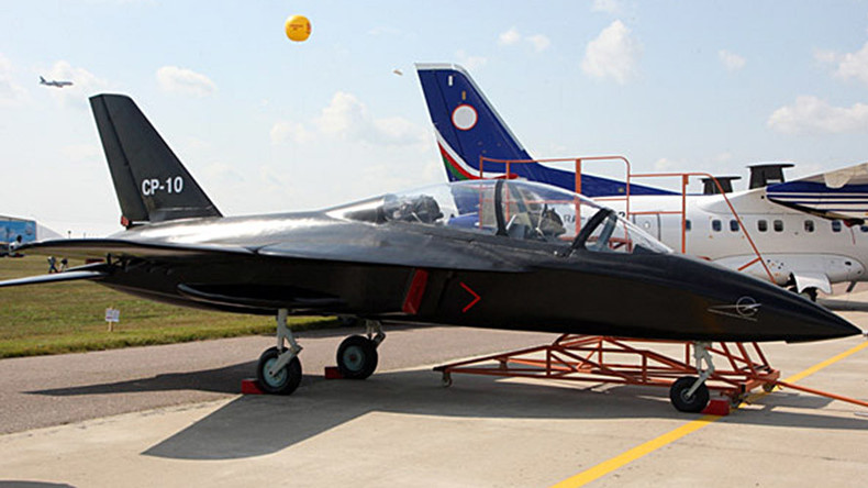 Russia's 1st forward-swept wing training aircraft performs maiden flight (VIDEO)