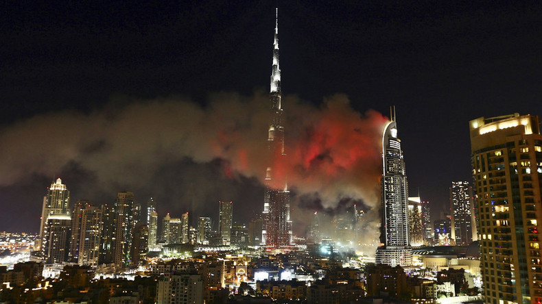 New fire in Dubai tower engulfed in flames on New Year's Eve (PHOTOS,VIDEOS)