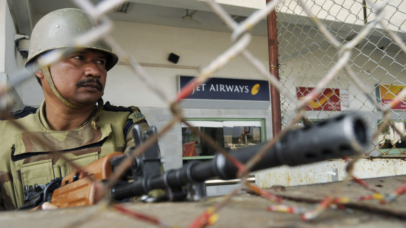 7 killed in gun battle after terrorists storm Indian airbase near Pakistani border