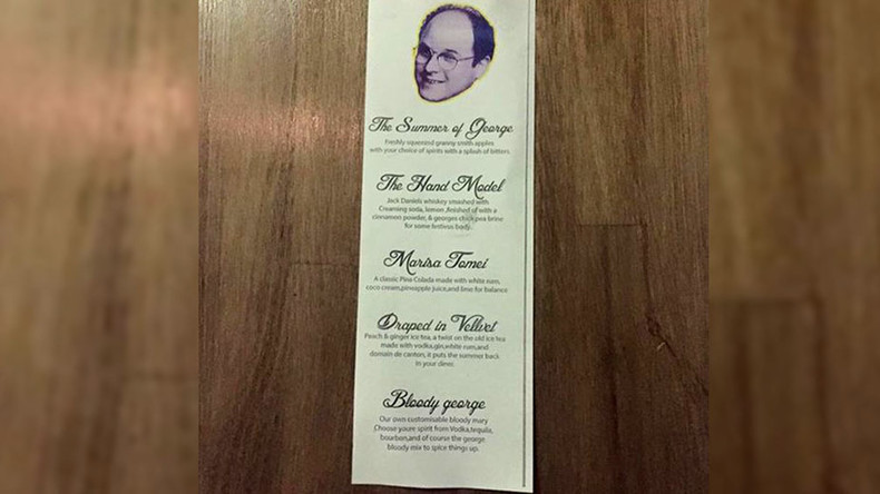 'Serenity now': George Costanza bar opened by Seinfeld devotee