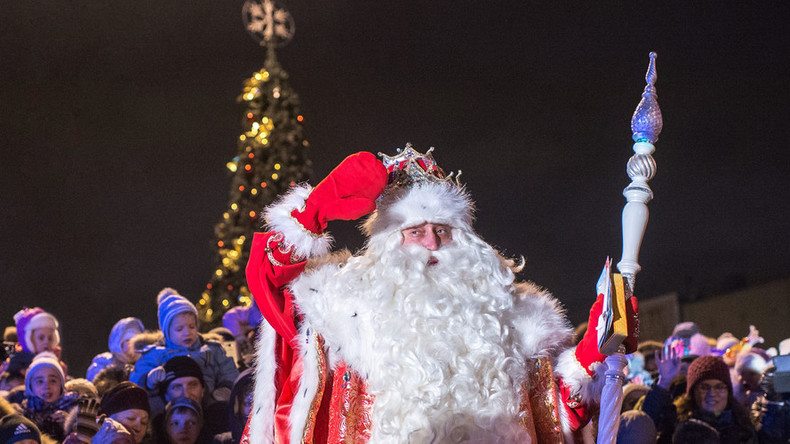 Who's naughty or nice? Russian Santa sued by ecology watchdog