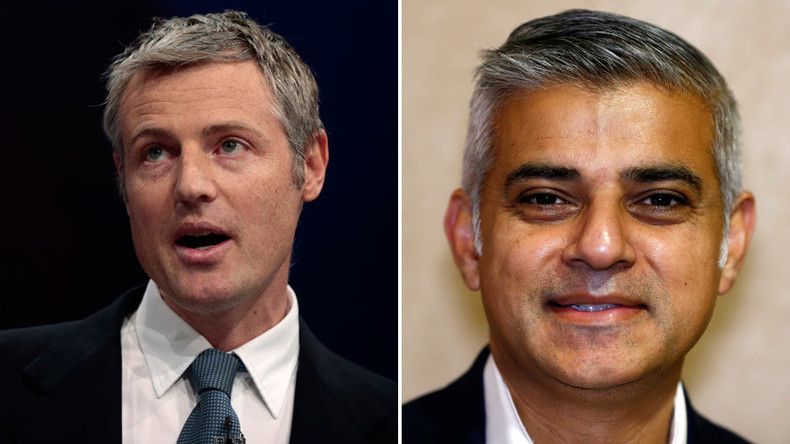Mayoral spat: Tory Zac Goldsmith accuses Labour rival Sadiq Khan of 'playing race card'