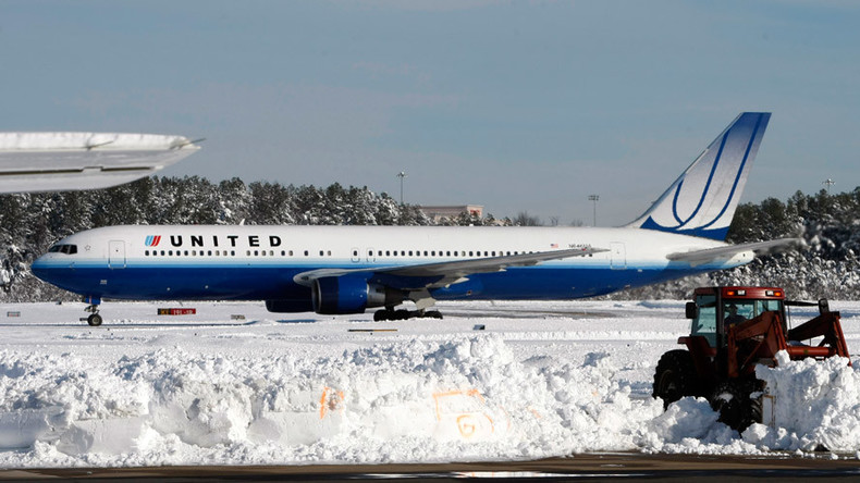 Denver-bound plane skids off runway in Spokane, Wash.