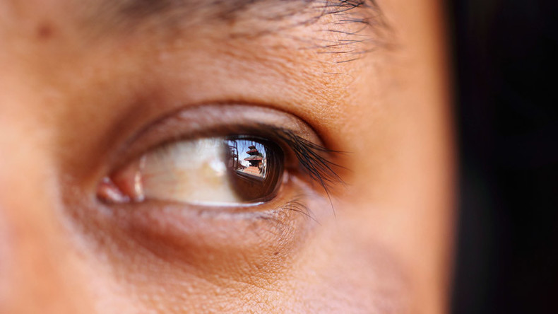 Blind woman fitted with 'bionic eye' sees for first time in 6yrs