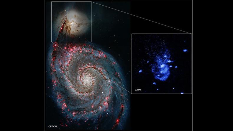 NASA finds supermassive black hole that 'burps' gas