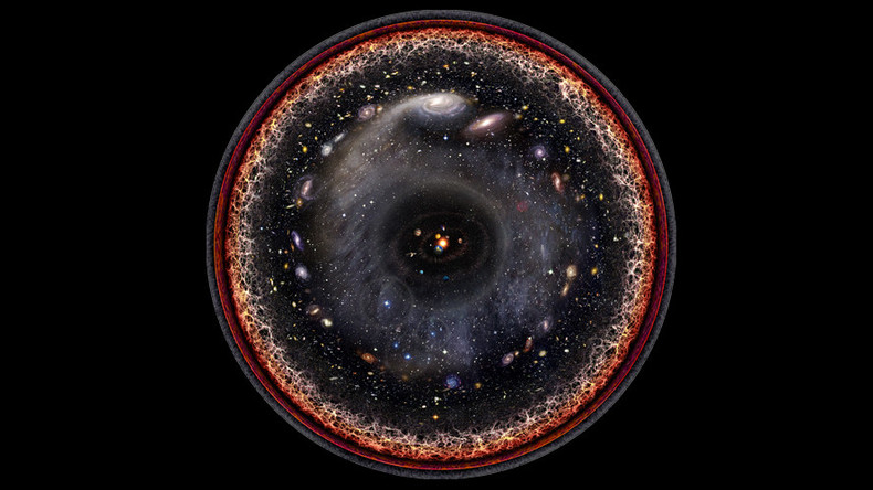 Artist creates amazing map of entire universe in one image