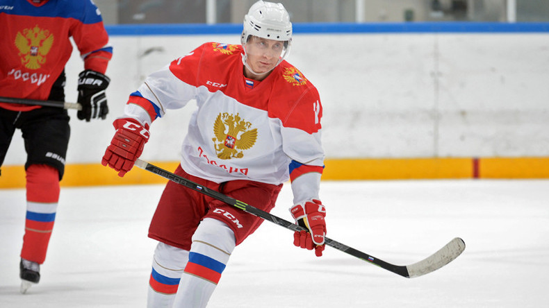 Putin hits the ice in Sochi ahead of Orthodox Christmas Day