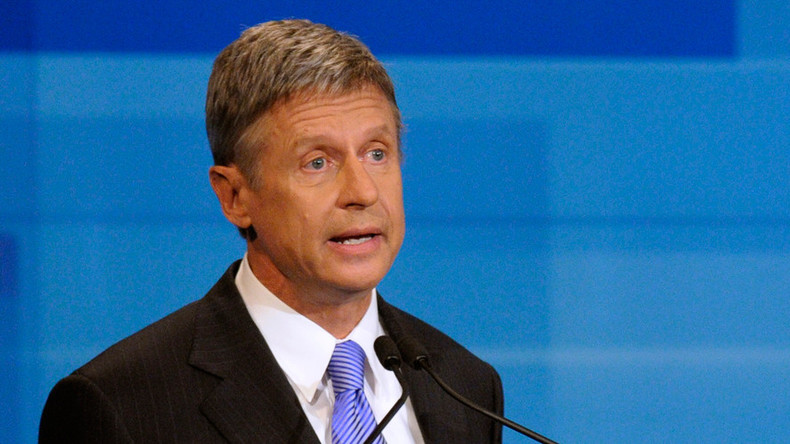 Gary Johnson announces 2016 presidential bid, seeks Libertarian Party nomination