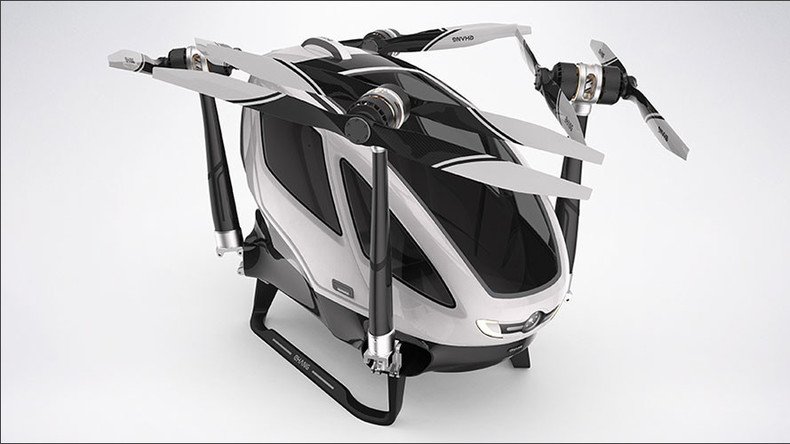 Chinese passenger drone unveiled at CES2016 (VIDEO)