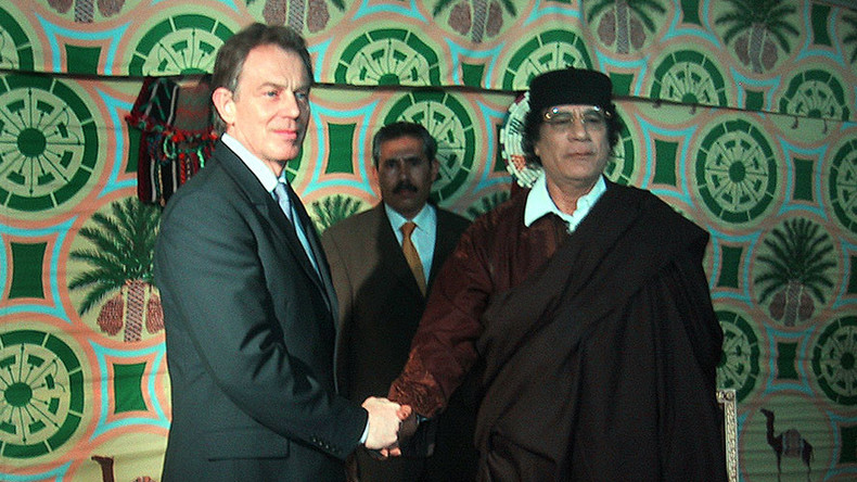 Gaddafi accused Blair of 'supporting Al-Qaeda,' unseen phone transcripts reveal