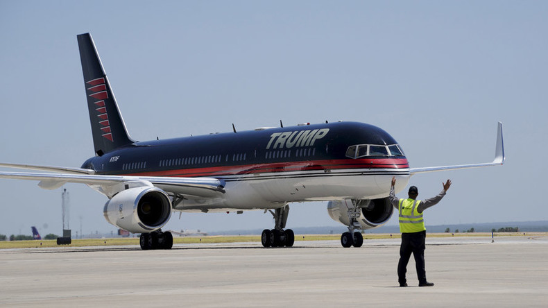 Trump Force One! Tycoon fined for air pollution by British Environment Agency