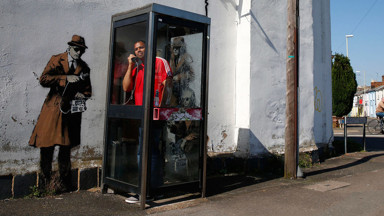 Banksy's 'Spy Booth' house in Cheltenham up for sale