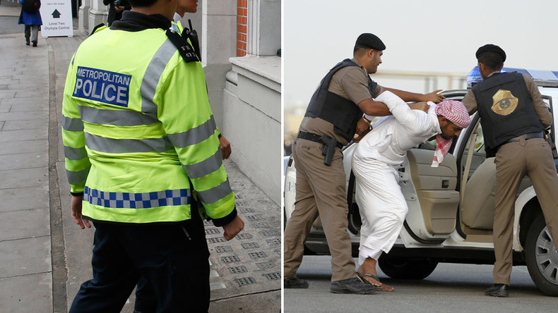 Britain's training of 270 Saudi police sparks calls for transparency