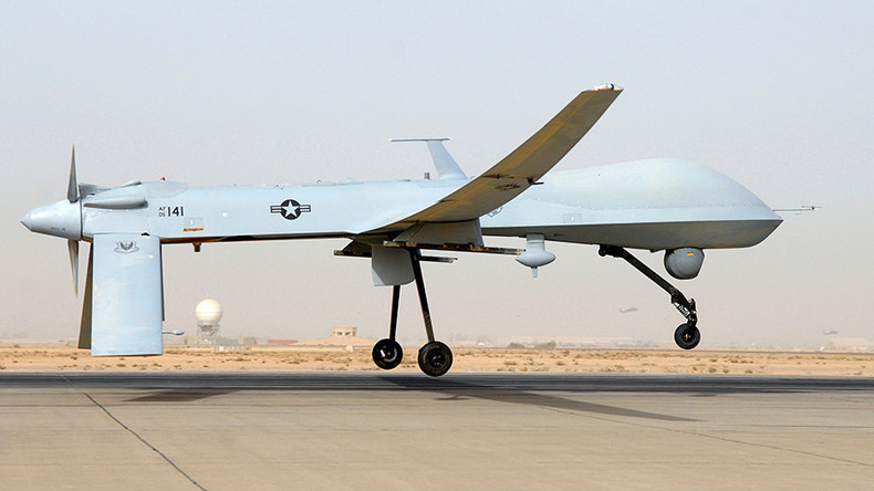 'Lost positive control': US military admits Predator drone crash in Iraq