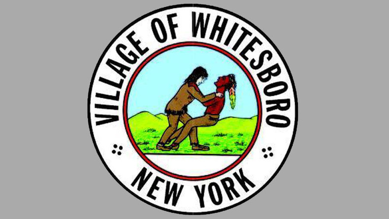 NY village vote on changing seal depicting white settler 'choking Indian'