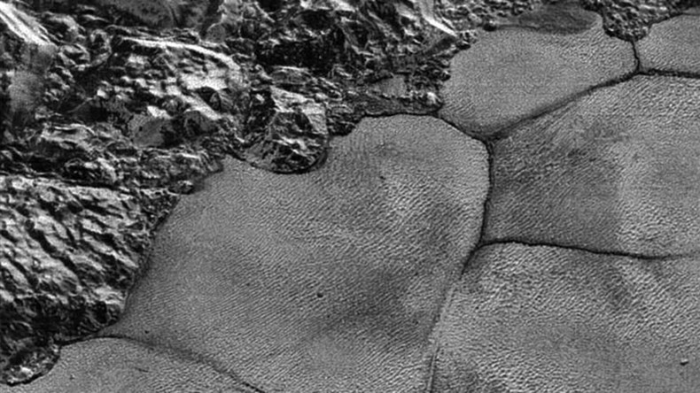 Pluto space slugs? High-res NASA mosaic shows 'lava lamp' surface of dwarf planet