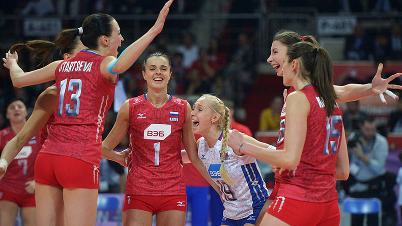 Russian volleyball success: Rio Olympics qualification secured
