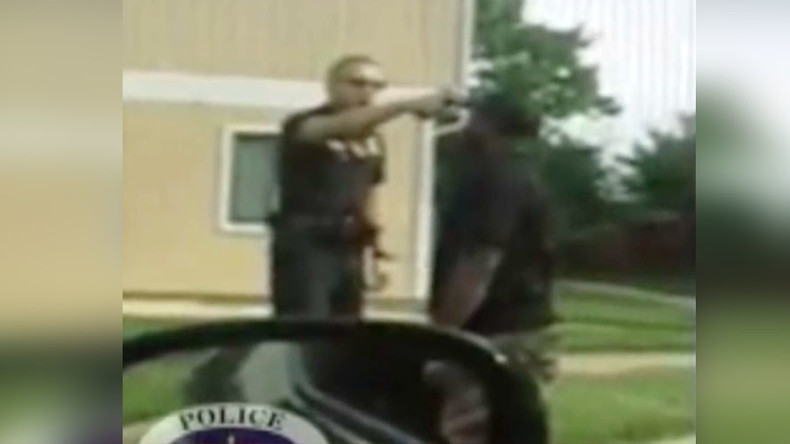 Victim? Maryland cop on 5yrs for putting gun in suspect's mouth wants apology