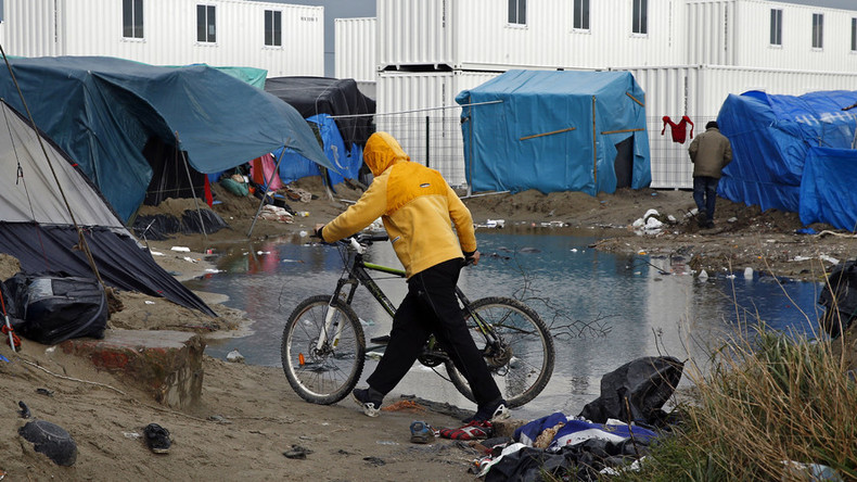Clearing the Jungle? Refugees vow to fight camp evictions by French police