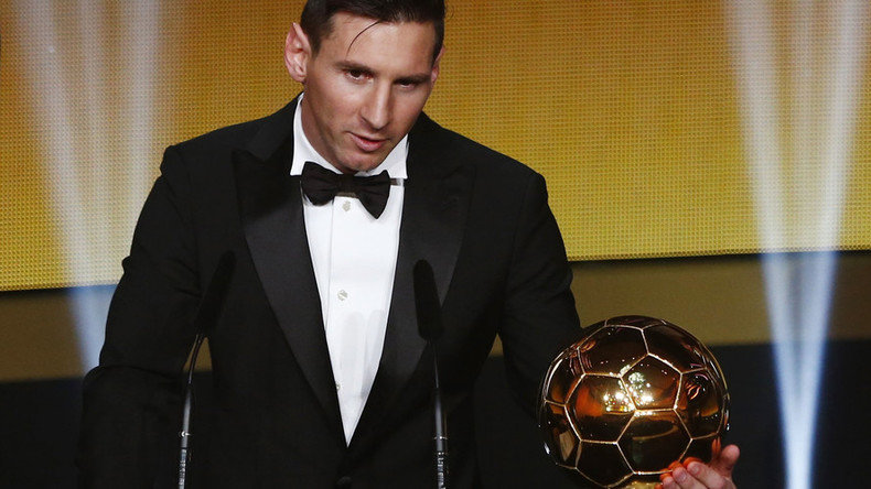 Messi claims record 5th Ballon d'Or crown