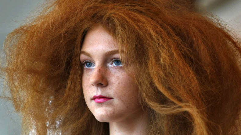 World celebrates 'Kiss a Ginger Day' by snogging redheads