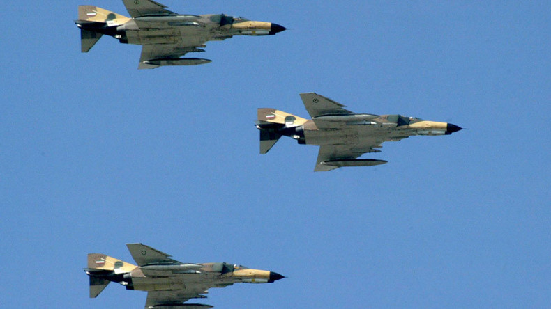 F-4 Phantom fighter jet crashes in Iran, 2 killed