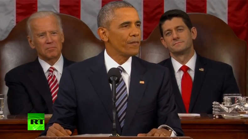 US 'most durable economy in the world' – Obama in his last SOTU