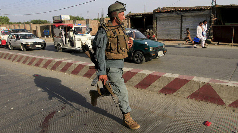 2 killed in suicide blast in eastern Afghanistan nr Iranian, Indian & Pakistani consulates