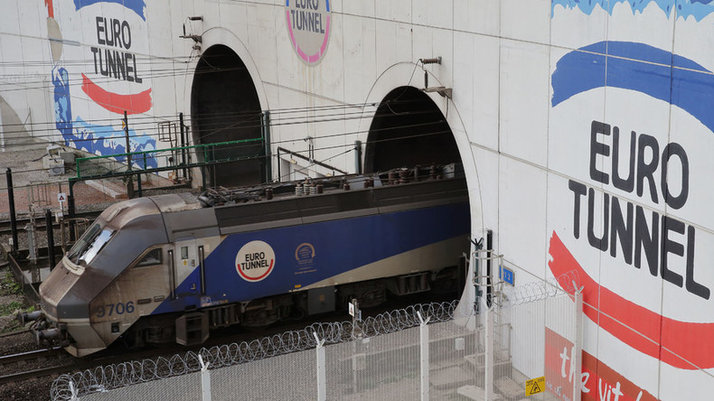 Fortress mentality: Eurotunnel flooding creates 'moat' to keep out refugees