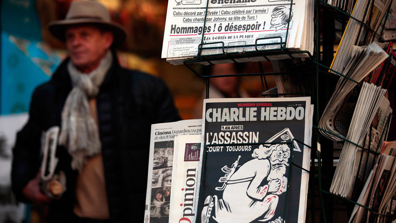 'Fascist': Charlie Hebdo under fire for depicting drowned Syrian boy as pervert in Germany