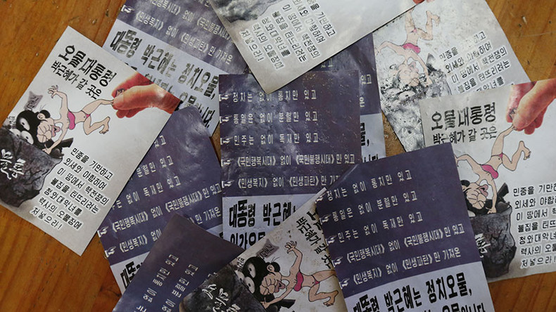 Paper war: N. Korea spams South with 1mn propaganda leaflets in response to border loudspeakers